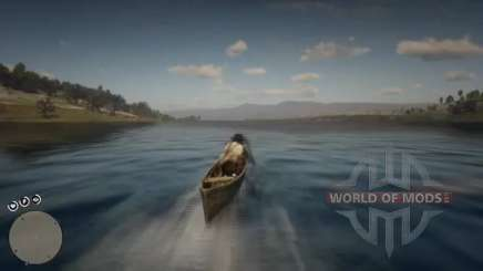 Where to find a canoe in RDR 2