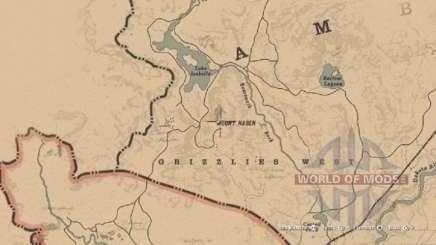 Morion helmet Map in RDR 2