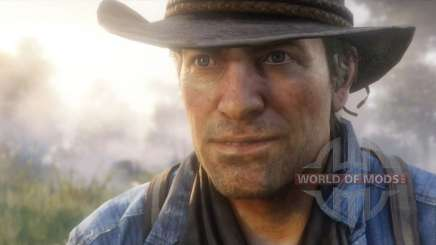 Main character in RDR 2