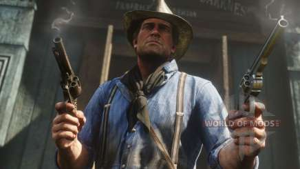 Weapon Upgrade in RDR 2