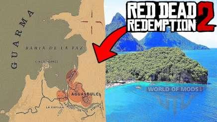 Guarma Island in RDR 2