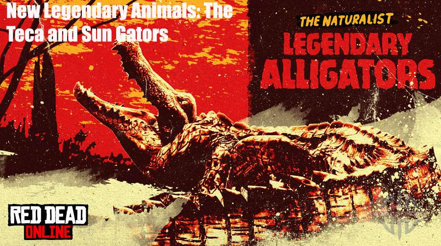 New Legendary Animals: The Teca and Sun Gators