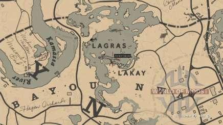 Gar Location in RDR 2