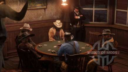 Board games in RDR 2