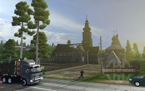 Euro Truck Simulator 2 will take a look at Russia