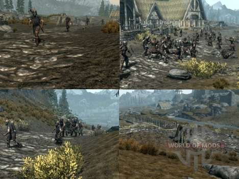 More war on the Skyrim for the fourth Skyrim screenshot