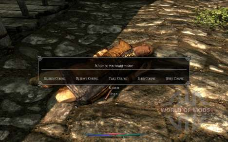Cleaning corpses for Skyrim fifth screenshot