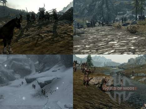 More war on the Skyrim for Skyrim second screenshot