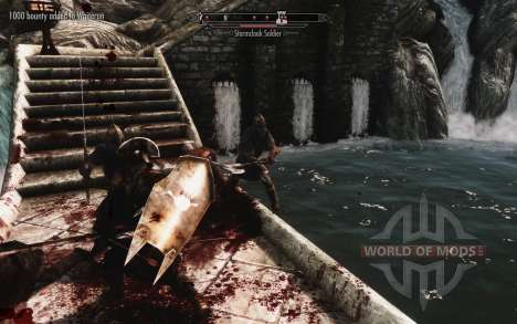 A set of armor and weapons of the Uruk-Hai for Skyrim sixth screenshot