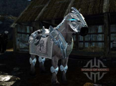 Armor for horses for Skyrim seventh screenshot