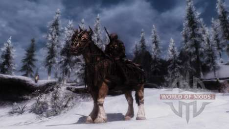 Armor for horses for Skyrim second screenshot