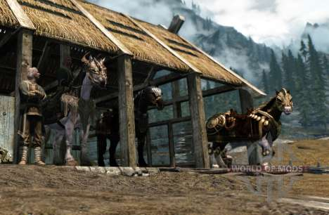 Armor for horses for Skyrim fifth screenshot