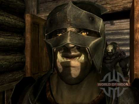 Uruk-Hai Lurz and coloring to Uruk-Hai orcs for Skyrim second screenshot