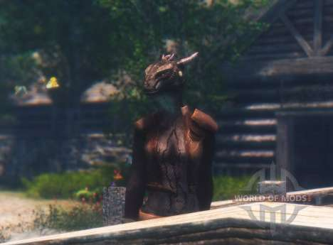 Forgotten argonianskie roots for the fourth Skyrim screenshot