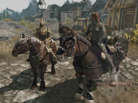 Armor for horses for Skyrim eleventh screenshot