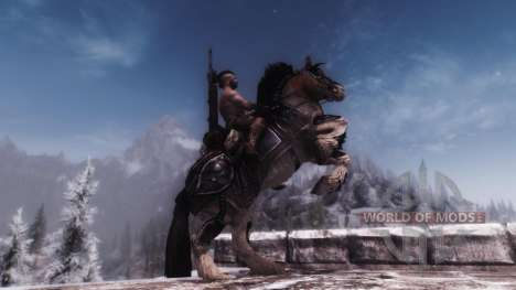 Armor for horses for Skyrim sixth screenshot