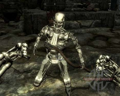 Race terminators for the fourth Skyrim screenshot