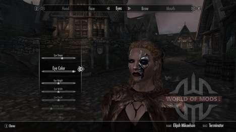 Race terminators for the third Skyrim screenshot