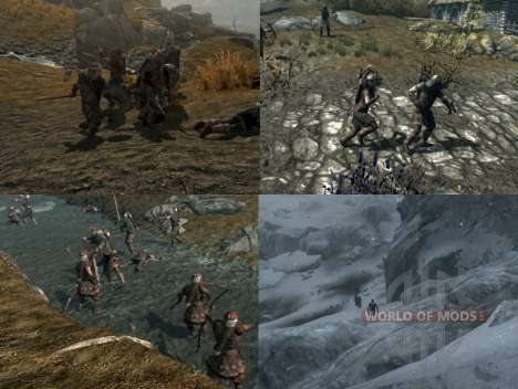 More war on the Skyrim for the third Skyrim screenshot
