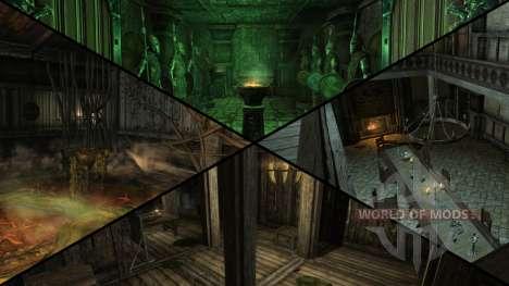 Sinister mansion for Skyrim