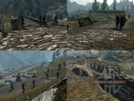 More war on the Skyrim for Skyrim fifth screenshot