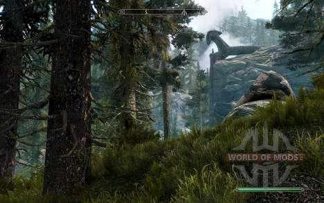 Realistic pine for the fourth Skyrim screenshot