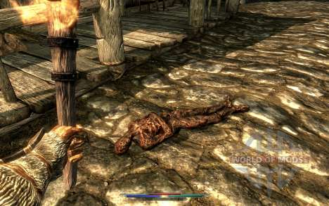 Cleaning corpses for Skyrim