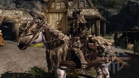 Armor for horses for the fourth Skyrim screenshot