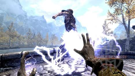 The Lightning Emperor for Skyrim second screenshot