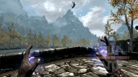 The Lightning Emperor for the third Skyrim screenshot