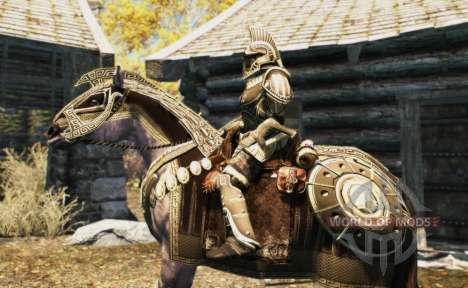 Armor for horses for Skyrim eighth screenshot