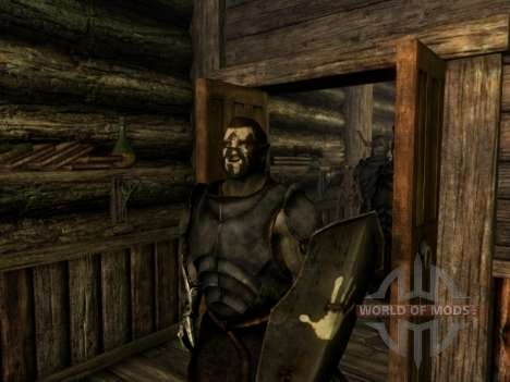 Uruk-Hai Lurz and coloring to Uruk-Hai orcs for Skyrim fifth screenshot