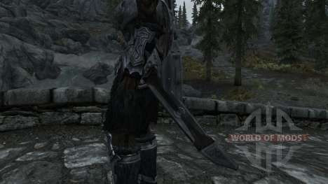 Nordskij sword with scabbard for Skyrim second screenshot