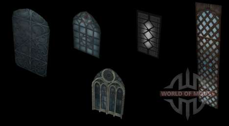 19 Windows for the editor for Skyrim