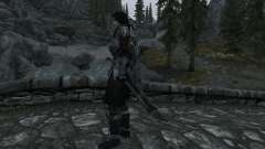 Nordskij sword with scabbard for Skyrim