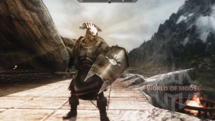 A set of armor and weapons of the Uruk-Hai for Skyrim