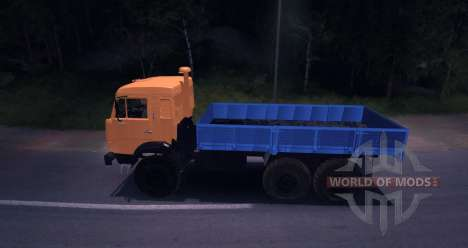 KAMAZ 43114 for Spin Tires