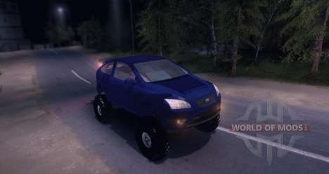 Ford Focus 2 OffRoad for Spin Tires