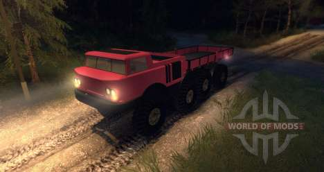 ZIL 135 for Spin Tires
