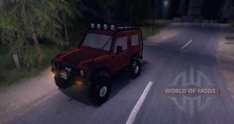 Suzuki Samurai SJ 413 FULL for Spin Tires