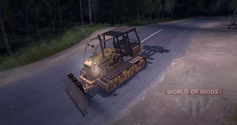 Bulldozer for Spin Tires