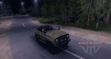 UAZ-469 v1.0 for Spin Tires