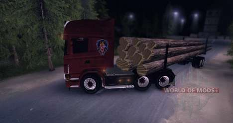 Scania Truck Logger v2.0 for Spin Tires