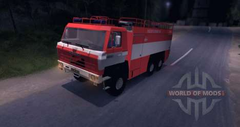 Tatra 815 Fire for Spin Tires