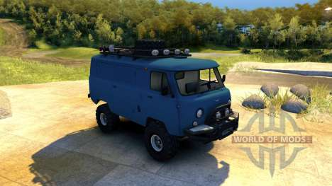 UAZ-452 Tablet for Spin Tires
