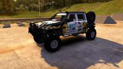 Nissan Navara for Spin Tires
