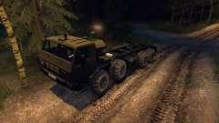 KrAZ 6316 Siberia Beta for Spin Tires