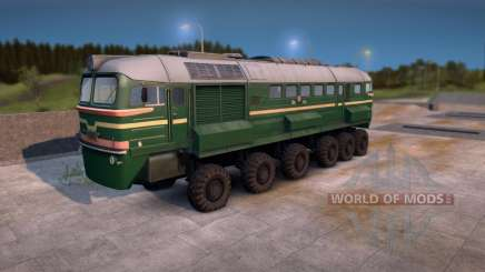 M62 Wheeled Train v1.0 for Spin Tires