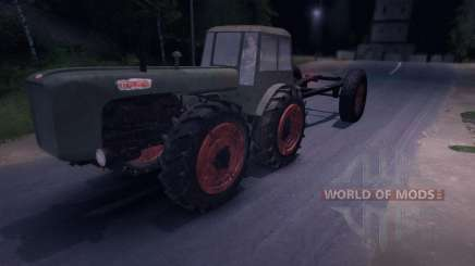 Dutra D4K with Trailer for Spin Tires