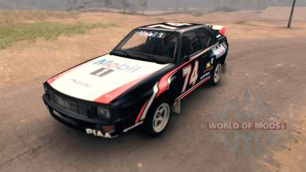 Audi Sport Quattro for Spin Tires